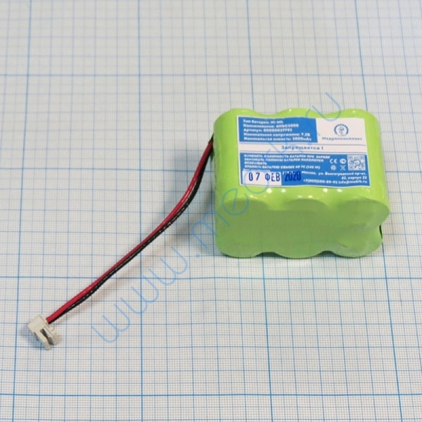 Батарея аккумуляторная 6H-SC3000 для шприцевого насоса B.BRAUN Vista Basic (МРК)  Вид 6