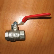 Кран шаровый полнопроходной Ду015 Ру25