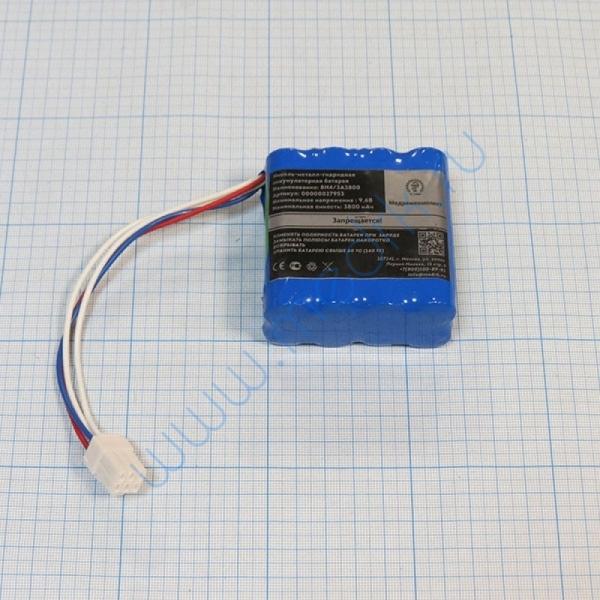 Батарея аккумуляторная 8H-4/3A3800 для Nihon Kohden PVM (МРК)  Вид 2