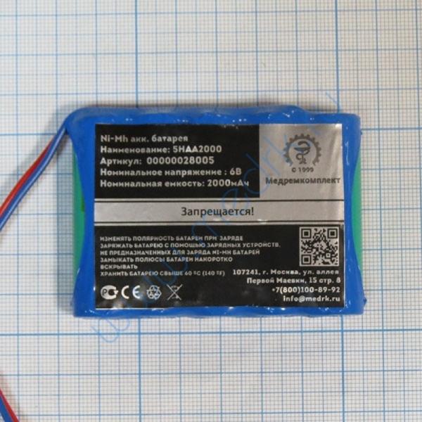 Батарея аккумуляторная 5H-AA2000 для Мегаомметра Е6-24 (МРК)  Вид 2