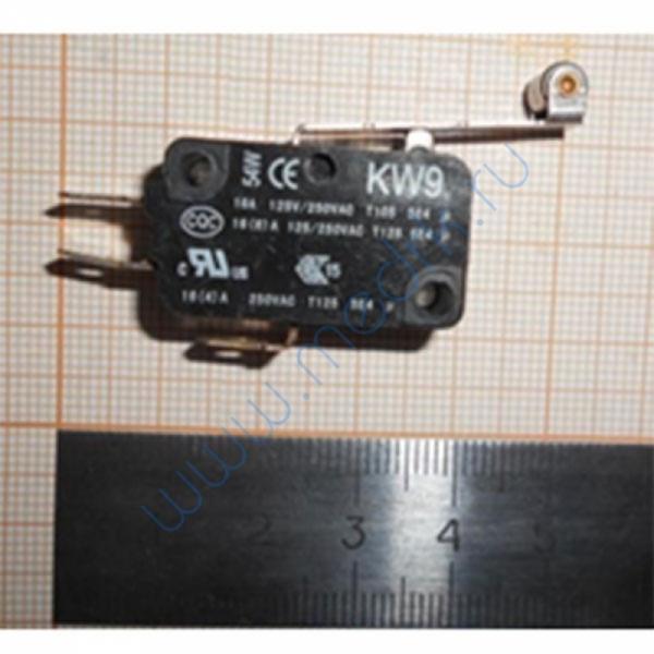 Выключатель концевой KW9 16A 125VAC/250VAC  Вид 1