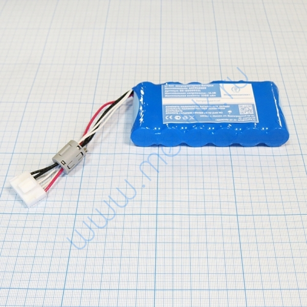 Батарея аккумуляторная 6ICR18500 для FUKUDA Cardimax 8222 (МРК)  Вид 5
