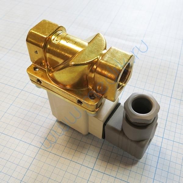 Клапан НЗ 220VAC 1/2 для ГК-100 СЗМО  Вид 3