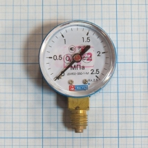 Манометр ДМ 02-050 2,5 МПа кислород
