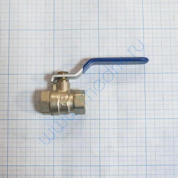 Кран 1/2 хромированный для ВК-75, ГК-100-3М  Вид 2