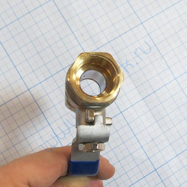 Кран 1/2 хромированный для ВК-75, ГК-100-3М  Вид 3
