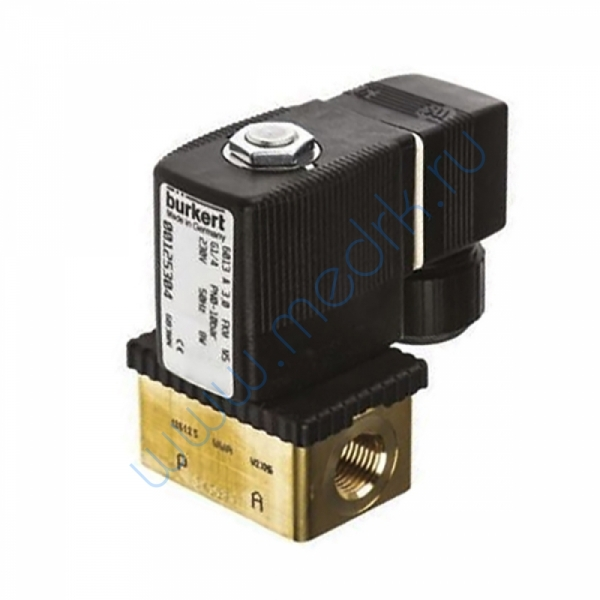 Клапан электромагнитный 6013 Ф4 G1/4  Вид 1