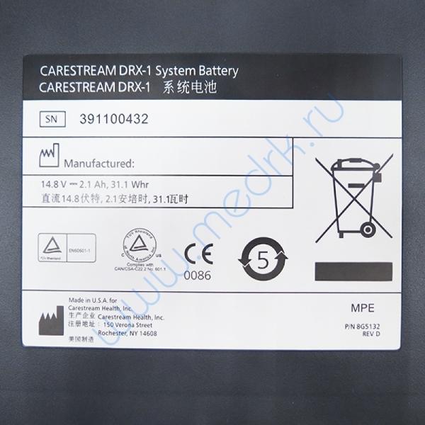 Батарея аккумуляторная для Carestream DRX-1  Вид 4