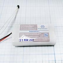 Батарея аккумуляторная 2ICR18650 (МРК) c ПЗ и датчиком для ЭК12Т-01-РД